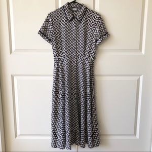 DKNY Donna Karan NY 100% Silk Star Dress/10